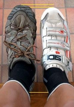 9a453e6e62a sports shoe vs cycle shoe fit The ...